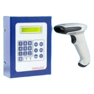 Machine Terminal with Barcode Scanner