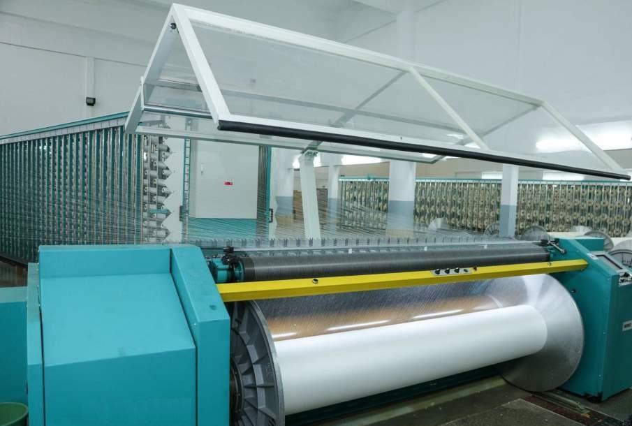 Weaving Preparatory - Warping Machine