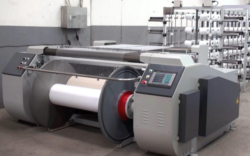 Weaving Preparatory - Beam Warping Machine